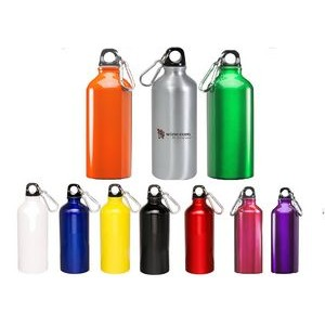 20 oz Oryza Aluminum Water Bottle With Carabiner