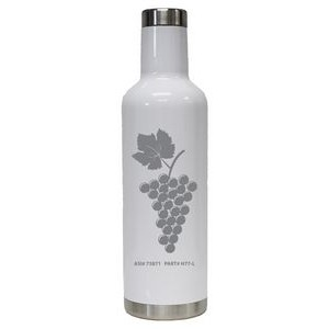 25 Oz. Stainless Wine Bottle